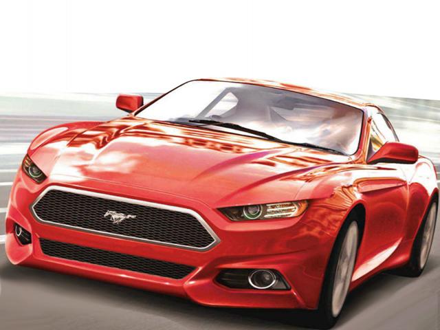 Новый форд мустанг 2014 фото